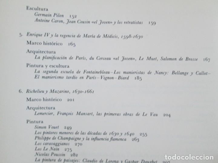 Libros de segunda mano: ANTHONY BLUNT. ARTE Y ARQUITECTURA EN FRANCIA 1500-1700. ARTE CATEDRA. 1977. VER FOTOS - Foto 11 - 148208490