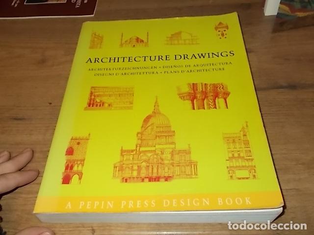 Libros de segunda mano: ARCHITECTURE DRAWINGS. DISEÑOS DE ARQUITECTURA. PEPIN PRESS DESIGN. 1ª EDICIÓN 1997. UNA JOYA!!! - Foto 2 - 149190158