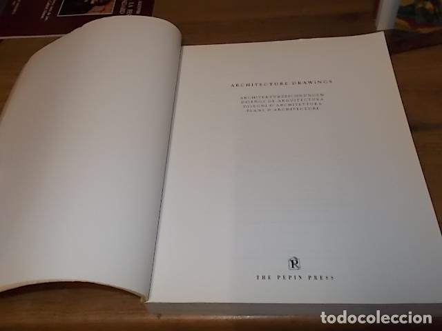 Libros de segunda mano: ARCHITECTURE DRAWINGS. DISEÑOS DE ARQUITECTURA. PEPIN PRESS DESIGN. 1ª EDICIÓN 1997. UNA JOYA!!! - Foto 3 - 149190158