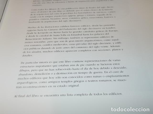 Libros de segunda mano: ARCHITECTURE DRAWINGS. DISEÑOS DE ARQUITECTURA. PEPIN PRESS DESIGN. 1ª EDICIÓN 1997. UNA JOYA!!! - Foto 6 - 149190158