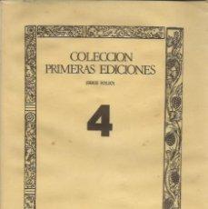 Libros de segunda mano: JUAN DE ARFE Y VILLAFAÑE: DE VARIA COMMENSURACION PARA LA ESCULPTURA Y ARCHITECTURA (FACSÍMIL. 1974). Lote 149366406