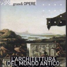 Libros de segunda mano: L' ARCHITETTURA DEL MONDO ANTICO. Lote 150198656