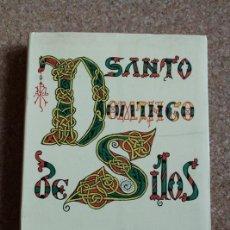 Libros de segunda mano: SANTO DOMINGO DE SILOS. ALCOCER (RAFAEL) BURGOS, EDICIONES ALDECOA, 1974.. Lote 150791358