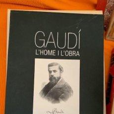 Libros de segunda mano: GAUDÍ L'HOME I L'OBRA. Lote 151422434