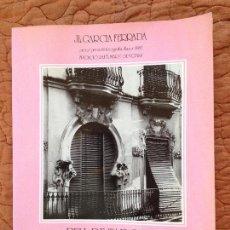 Libros de segunda mano: BORRIANA -PELL DE TARONJA 1890-1940,TEXT DE JOSEP PALOMERO-FOTOGRAFIA,J.L.GARCIA FERRADA,1986. Lote 151426634