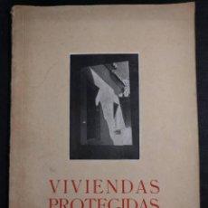 Libros de segunda mano: VIVIENDAS PROTEGIDAS. UNA OBRA DE LA FALANGE. HAZA DE CUEVAS. CAMPILLO. MÁLAGA. 1941. ARQUITECTURA.. Lote 151442650