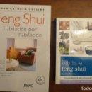 Libros de segunda mano: LA BIBLIA DEL FENG SHUI,SIMON BROWN,2011,400 PP. 14X16,- FENG SHUI HABITACION POR HABITACION 269PP. Lote 151501822