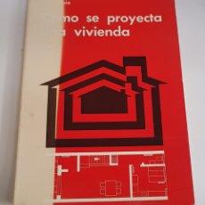 Libros de segunda mano - Como se proyecta una vivienda - arm08 - 151612265
