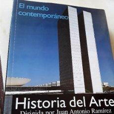 Libros de segunda mano: HISTORIA DEL ARTE 4 -EL MUNDO CONTEMPORÁNEO-, ALIANZA. BUSCADÍSIMO. ÚNICO EN TC. EXCELENTE ESTADO. Lote 135935854