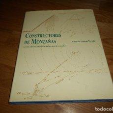 Libros de segunda mano: CONSTRUCTORES DE MONTAÑAS.ESTUDIO SOBRE LA CONSTRUCCIÓN PIRÁMIDES EGIPCIAS A. GARCÍA VEREDA 2008. Lote 171115163