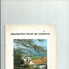 Libros de segunda mano: AZPILCUETA NAVARRA - VII CONCURSO DE EMBELLECIMIENTO DE PUEBLOS Y CONJUNTOS URBANOS.. Lote 152550010