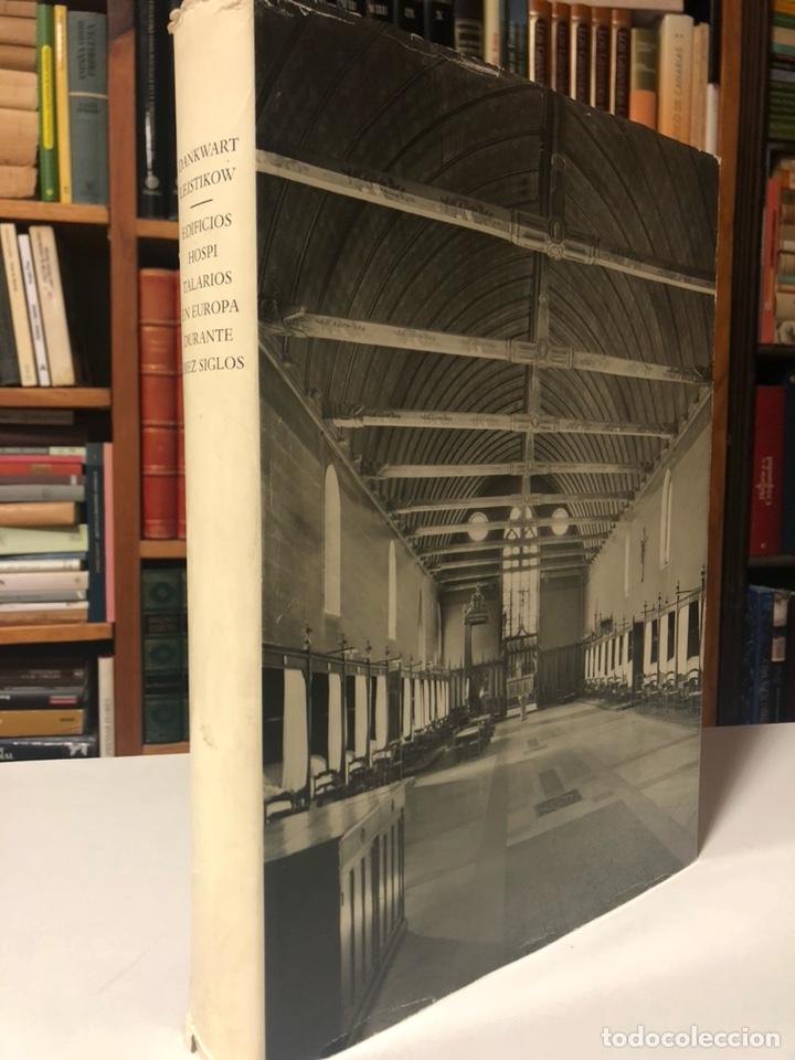 EDIFICIOS HOSPITALARIOS EN EUROPA DURANTE DIEZ SIGLOS. HISTORIA DE LA ARQUITECTURA HOSPITALARIA. (Libros de Segunda Mano - Bellas artes, ocio y coleccionismo - Arquitectura)