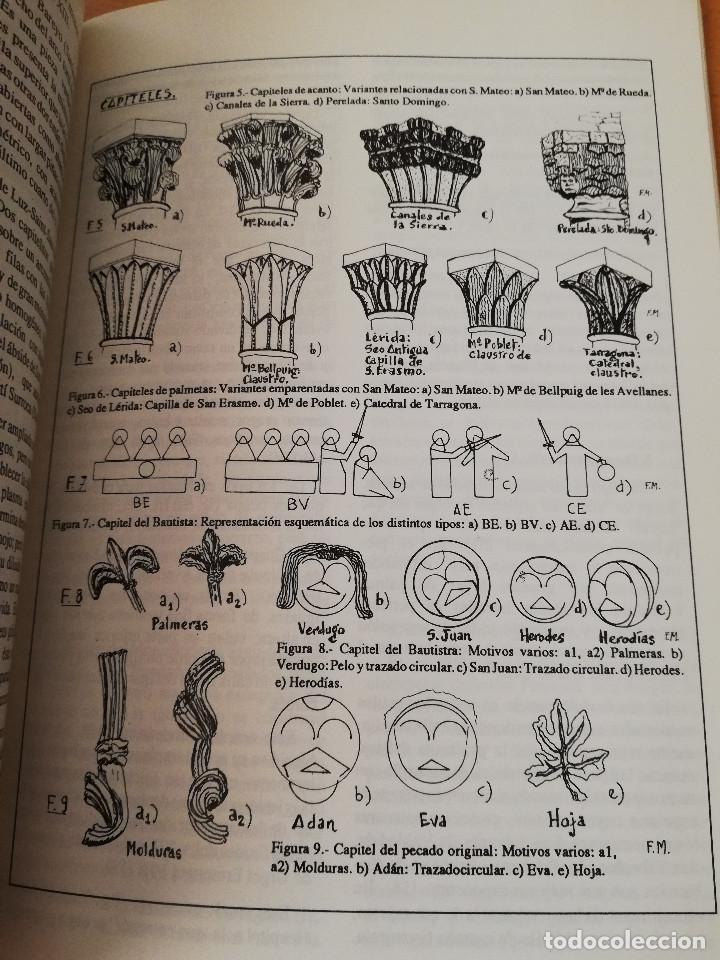 Libros de segunda mano: EL ROMÁNICO EN LA VILLA DE SAN MATEO (F. MATARREDONA SALA) - Foto 4 - 154649402