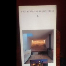 Libros de segunda mano: DOCUMENTOS DE ARQUITECTURA 26. Lote 154767858