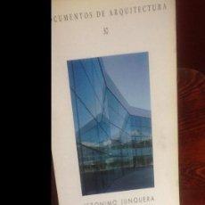 Libros de segunda mano: DOCUMENTOS ARQUITECTURA 30 . Lote 154768202