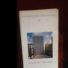 Libros de segunda mano: DOCUMENTOS DE ARQUITECTURA 37. Lote 154768750