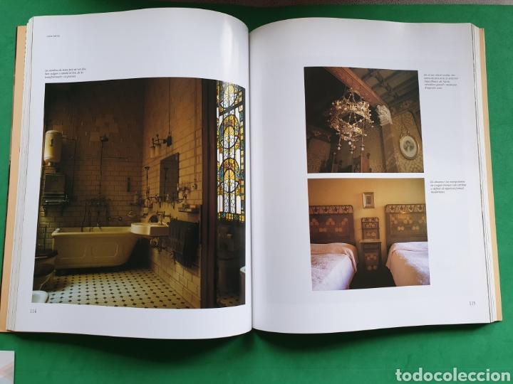 Libros de segunda mano: Cases modernistes de Catalunya. Fotografias Toni Catany. Edicions 62 - Foto 2 - 154908094