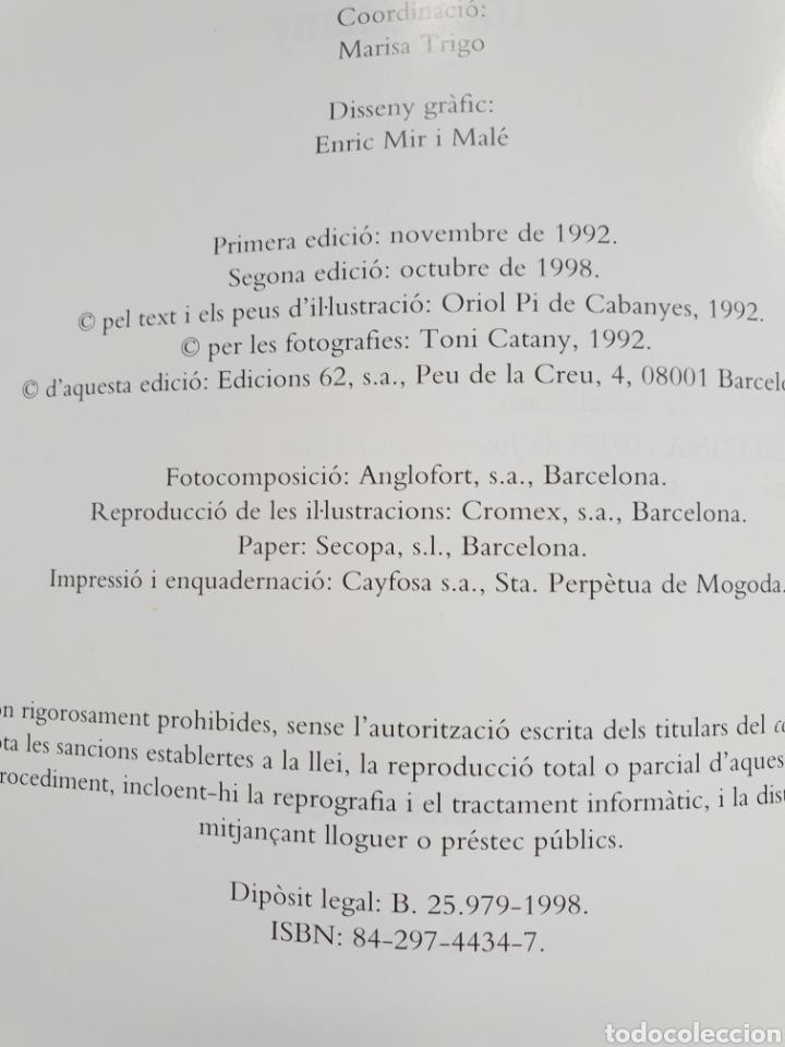 Libros de segunda mano: Cases modernistes de Catalunya. Fotografias Toni Catany. Edicions 62 - Foto 4 - 154908094
