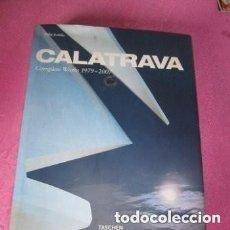 Libros de segunda mano: CALATRAVA SANTIAGO LIBRO ARQUITECTO WORKS 1979-2007 TASCHEN.. Lote 155567090