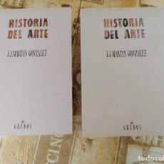 Libros de segunda mano - Historia del arte 2 Tomos J. J. Martín González - 156280622