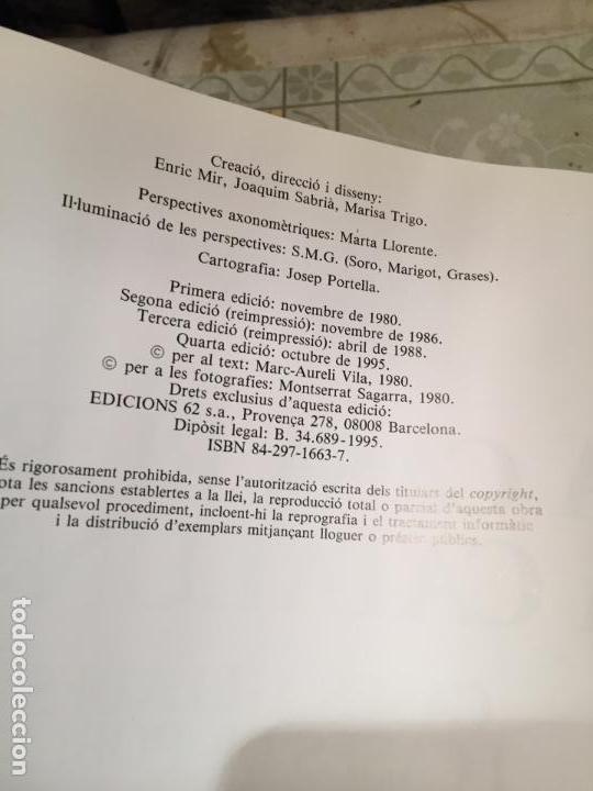 Libros de segunda mano: LA CASA RURAL A CATALUNYA. CASES AÏLLADES I CASES DE POBLE año 1998 - Foto 3 - 156629930