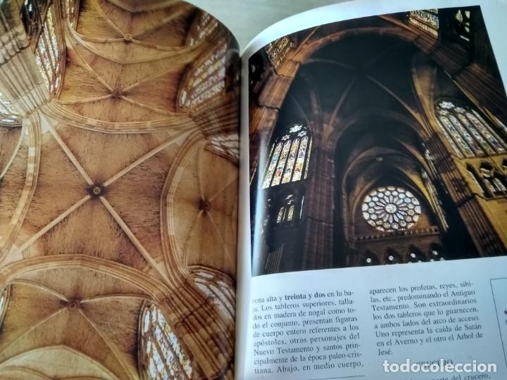 Libros de segunda mano: La catedral de León. El sueño del gótico. - Foto 2 - 156599746