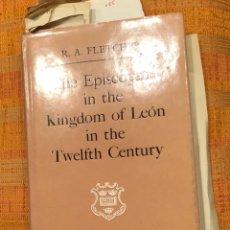 Libros de segunda mano: THE EPISCOPATE IN THE KINGDOM OF LEON IN THE TWELFTH CENTURY(30€). Lote 156891566