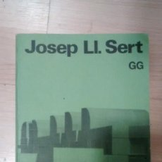 Libros de segunda mano: 'JOSEP LL. SERT'. ESTUDIOPAPERBACK. Lote 156962990