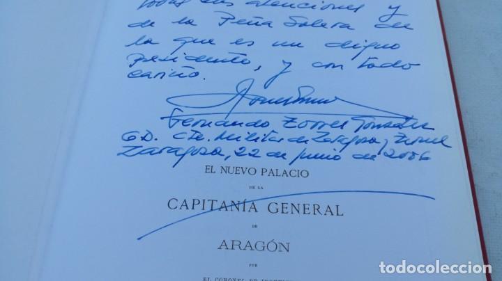 Libros de segunda mano: EL NUEVO PALACIO DE LA CAPITANIA GENERAL DE ARAGON/ J GOMEZ Y PALETE/ VER DEDICATORIA/ G10 - Foto 4 - 158157322
