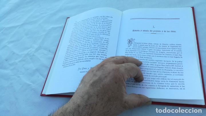 Libros de segunda mano: EL NUEVO PALACIO DE LA CAPITANIA GENERAL DE ARAGON/ J GOMEZ Y PALETE/ VER DEDICATORIA/ G10 - Foto 14 - 158157322