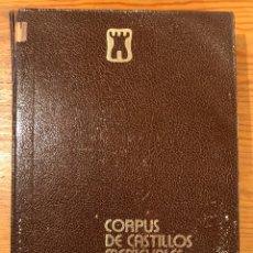 Libros de segunda mano: CORPUS DE CASTILLOS MEDIEVALES DE CASTILLA(39€). Lote 158595750