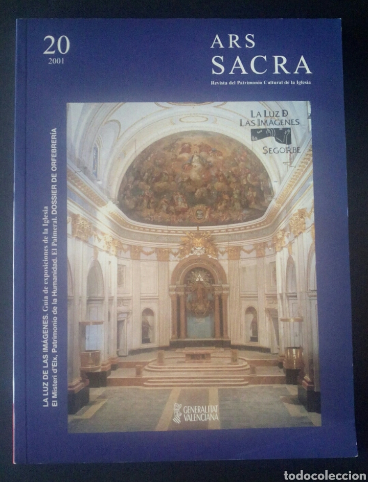 CTC - ARS SACRA - NÚMERO 20 AÑO 2001 - REVISTA DE PATRIMONIO CULTURAL DE LA IGLESIA - Nº20 (Libros de Segunda Mano - Bellas artes, ocio y coleccionismo - Arquitectura)