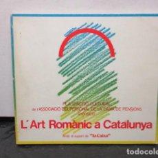 Libros de segunda mano: L'ART ROMANIC A CATALUNYA. EXPOSICIO AMB EL SUPORT DE LA CAIXA. (EN CATALAN). Lote 158973414