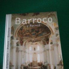 Libros de segunda mano: LIBRO EL BARROCO Y ROCOCO. Lote 159041416