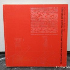 Libros de segunda mano: LA MIRADA DEL ARQUITECTO - COLECCIÓN MANOLO BAQUERO - ARQUITECTURA BOCETOS DIBUJOS ARTE. Lote 181097517