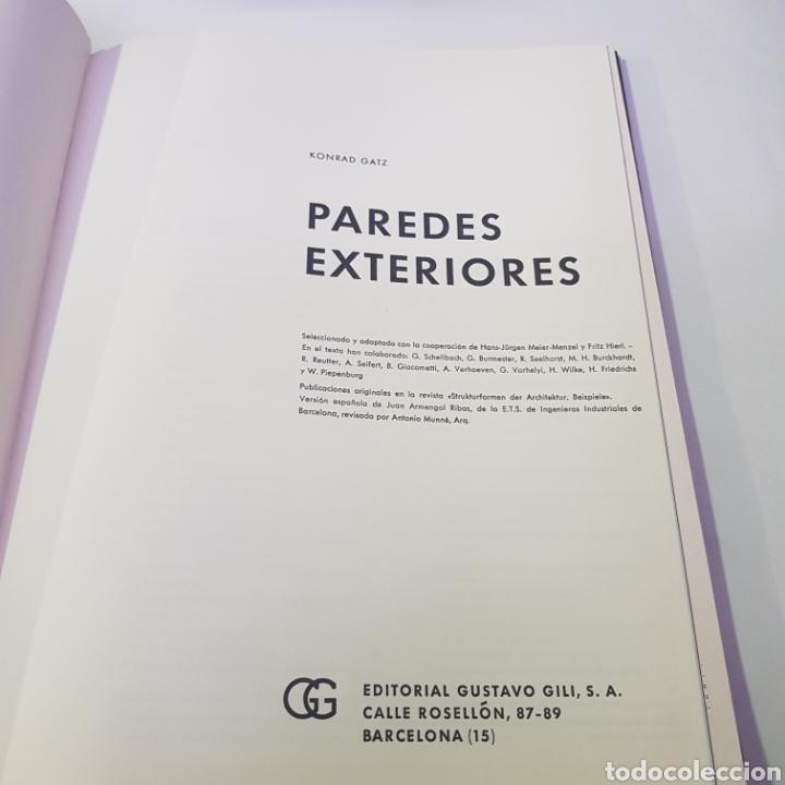 LIBRO PAREDES EXTERIORES - ARM02 (Libros de Segunda Mano - Bellas artes, ocio y coleccionismo - Arquitectura)