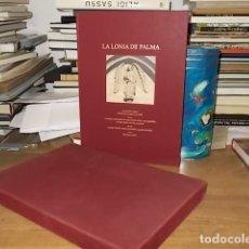 Libros de segunda mano: LA LONJA DE PALMA.ED. DE LUJO.DIBUJOS: JAVIER VELLÉS,M. CASARIEGO.FOTOS: GABRIEL RAMÓN.2003.MALLORCA. Lote 160066522