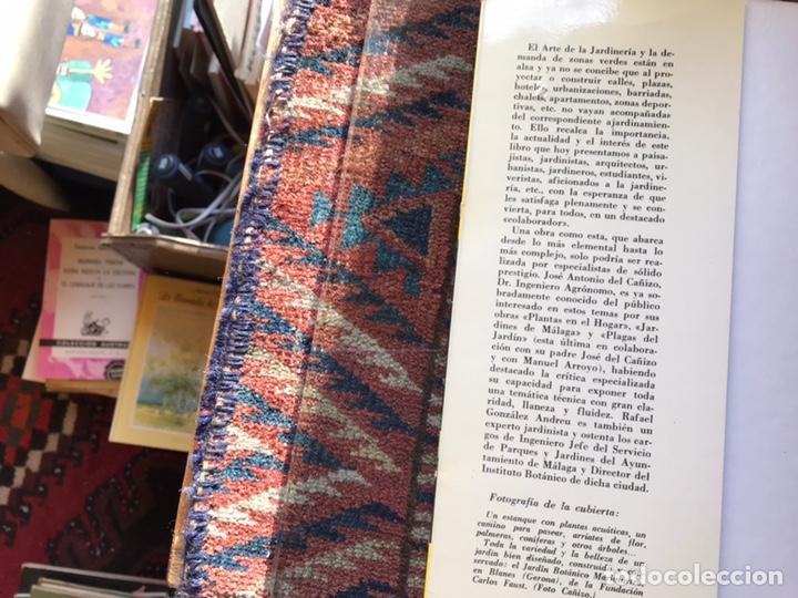 Libros de segunda mano: Jardines. Diseño. Proyecto. Plantación. José Antonio del cañizo - Foto 2 - 180250122