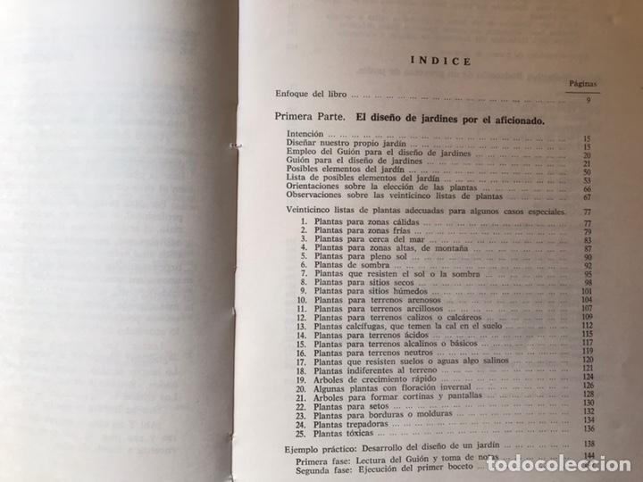 Libros de segunda mano: Jardines. Diseño. Proyecto. Plantación. José Antonio del cañizo - Foto 5 - 180250122