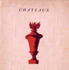 Libros de segunda mano: CHATEAUX DE FRANCE. CASTILLOS DE FRANCIA. COMISARIADO GENERAL DE TURISMO. 1948. FRANCIA.. Lote 161370030