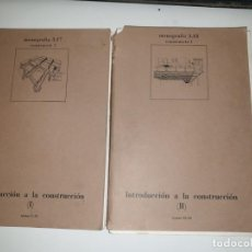 Libros de segunda mano: INTRODUCCION A LA CONSTRUCCION II TOMOS. Lote 161451622