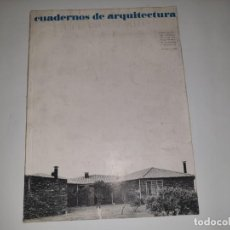 Libros de segunda mano: CUADERNOS DE ARQUITECTURA N. 56 VIVIENDAS UNIFAMILIARES. Lote 161453254