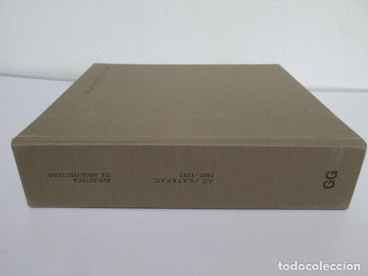 Libros de segunda mano: REVISTA A.C/ G.A.T.E.P.A.C. 1931-1937. ARQUITECTURA. DOCUMENTOS DE ACTIVIDAD CONTEMPORANEA. - Foto 2 - 161584398