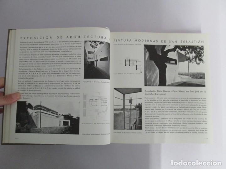 Libros de segunda mano: REVISTA A.C/ G.A.T.E.P.A.C. 1931-1937. ARQUITECTURA. DOCUMENTOS DE ACTIVIDAD CONTEMPORANEA. - Foto 8 - 161584398