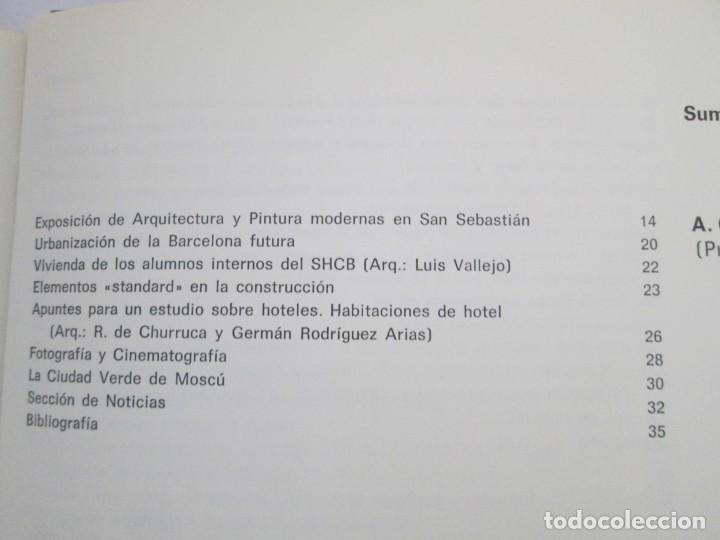 Libros de segunda mano: REVISTA A.C/ G.A.T.E.P.A.C. 1931-1937. ARQUITECTURA. DOCUMENTOS DE ACTIVIDAD CONTEMPORANEA. - Foto 16 - 161584398