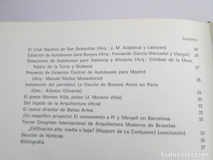 Libros de segunda mano: REVISTA A.C/ G.A.T.E.P.A.C. 1931-1937. ARQUITECTURA. DOCUMENTOS DE ACTIVIDAD CONTEMPORANEA. - Foto 18 - 161584398