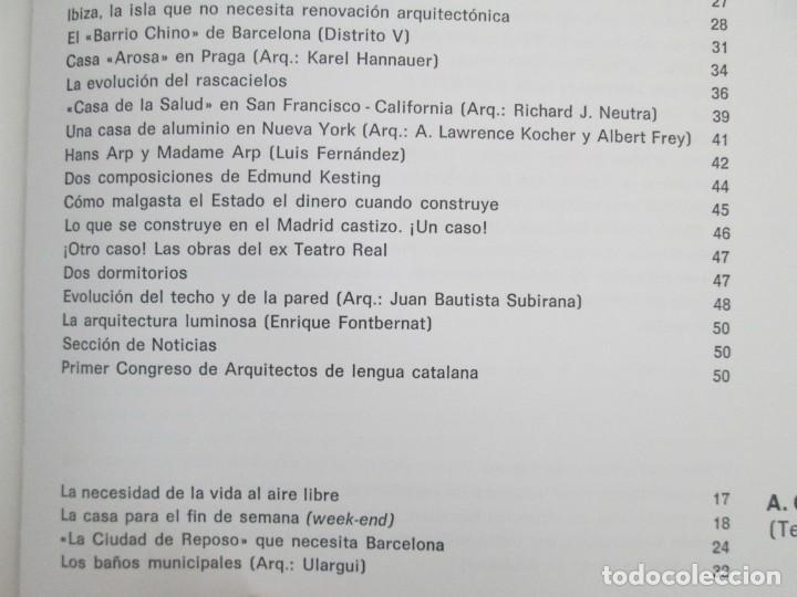 Libros de segunda mano: REVISTA A.C/ G.A.T.E.P.A.C. 1931-1937. ARQUITECTURA. DOCUMENTOS DE ACTIVIDAD CONTEMPORANEA. - Foto 21 - 161584398