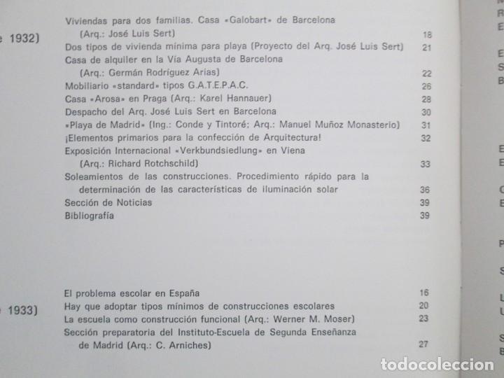 Libros de segunda mano: REVISTA A.C/ G.A.T.E.P.A.C. 1931-1937. ARQUITECTURA. DOCUMENTOS DE ACTIVIDAD CONTEMPORANEA. - Foto 23 - 161584398