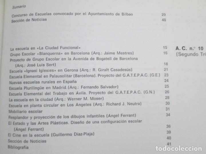 Libros de segunda mano: REVISTA A.C/ G.A.T.E.P.A.C. 1931-1937. ARQUITECTURA. DOCUMENTOS DE ACTIVIDAD CONTEMPORANEA. - Foto 24 - 161584398