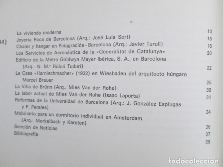 Libros de segunda mano: REVISTA A.C/ G.A.T.E.P.A.C. 1931-1937. ARQUITECTURA. DOCUMENTOS DE ACTIVIDAD CONTEMPORANEA. - Foto 27 - 161584398